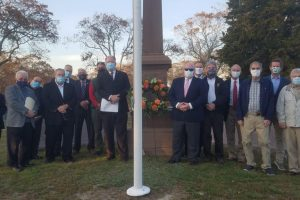 KofC Brothers who attended the ceremony