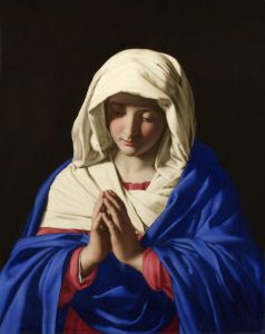 Giovanni Battista Salvi da Sassoferrato: The Virgin in Prayer